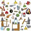 Angry Birds 2.0 Peel and Stick Wall Stickers