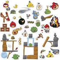 good looking angry birds decals Good looking Angry Birds Decals - Home Design #980