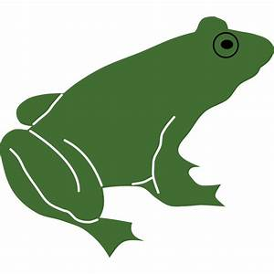 Frog Silhouette - Cliparts.co