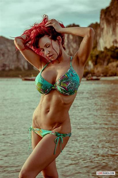 Bikini Boobs Arms Bianca Breasts Beauchamp Cleavage
