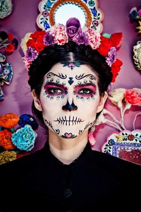 dia de la muerte maquillage make up