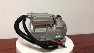 12v Electric Vehicle Car Ac Compressor Universal