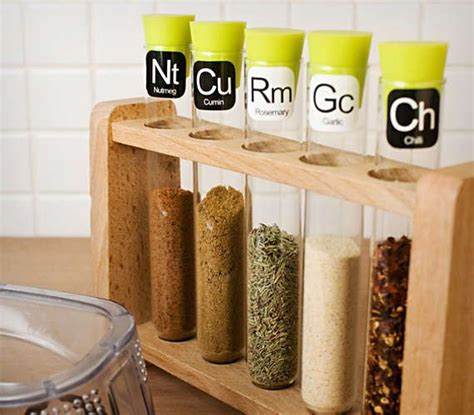 Scientific Spice Rack by Science Lab Spice Racks Home Kitchen Dining Pantry