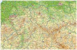 Deutschland Physische Karte : diercke weltatlas kartenansicht deutschland mittlerer teil physische karte 978 3 14 ~ Watch28wear.com Haus und Dekorationen