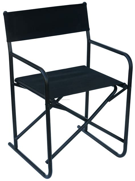 us made dining ht aluminum director chair with cotton