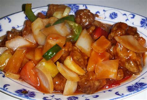 cuisine vietnamienne travers de porc à la sauce aigre douce 8 00 mille
