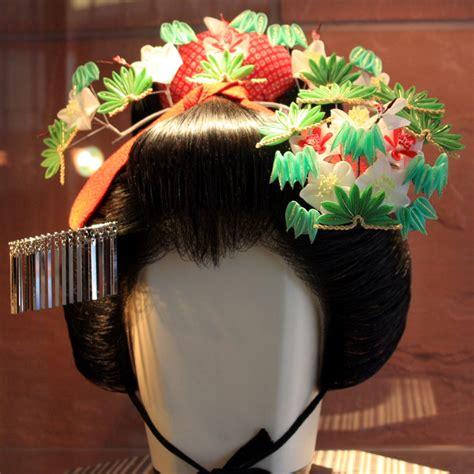 hair ornaments kanzashi