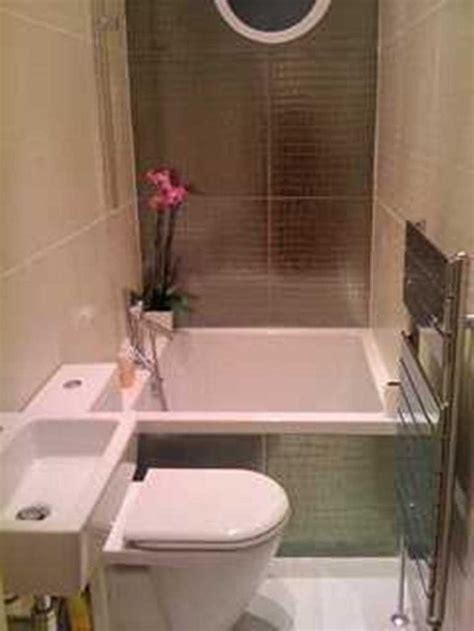 small square tub with shower in 9 ft section small