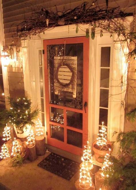 cool decorating ideas  christmas front porch  xerxes