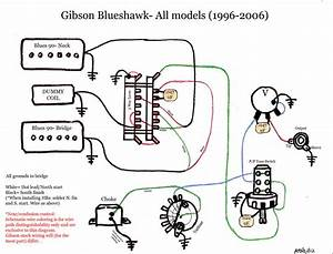 Blueshawk Wiring Diagram Schematic Gibson Color