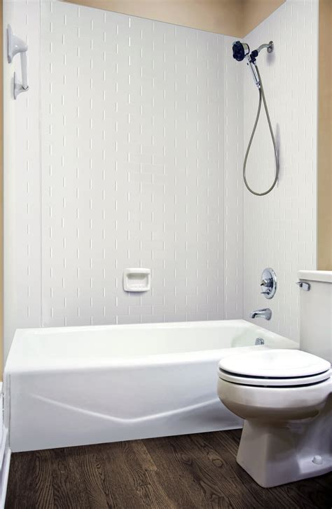 shower surrounds mirroflex tub and shower surrounds ati laminates