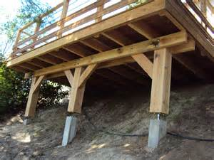 terrasse en bois pilotis plan nos conseils