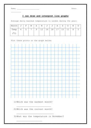 number names worksheets 187 line graph worksheets free