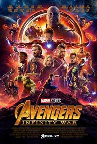 Image result for avengers INFINITY WAR OFFICIAL MOVIE POSTER