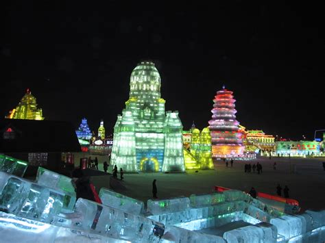 Harbin And Snow Festival Picture by Harbin And Snow Festival Picture Of A