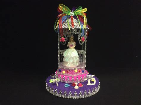 quinceanera cake toppers quinceanera cake topper table decoration by