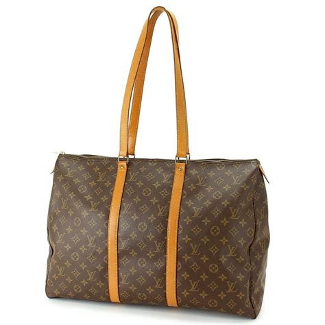 auth louis vuitton monogram canvas flanerie  tote bag