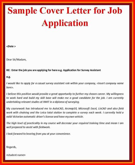 12424 application letter for employment cover letter template apa exle