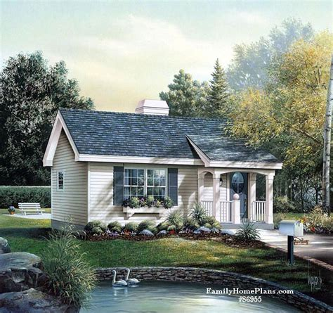 Small Cottage House Plans With Amazing Porches
