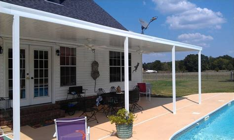 build a patio awning prefab patio cover kits aluminum