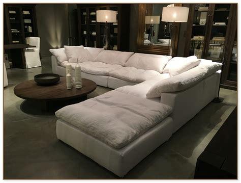 restoration hardware cloud sofa