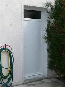 Porte Service Pvc : porte de service pvc blanc alu deco raiss ~ Melissatoandfro.com Idées de Décoration