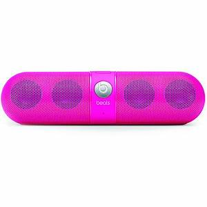 Beats By Dre Beats Pill Neon Pink Wireless Speakers at