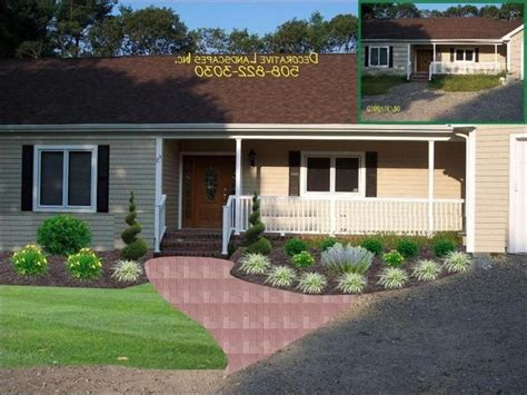 ranch homes landscaping ideas  craft home ideas ranch house landscaping ranch