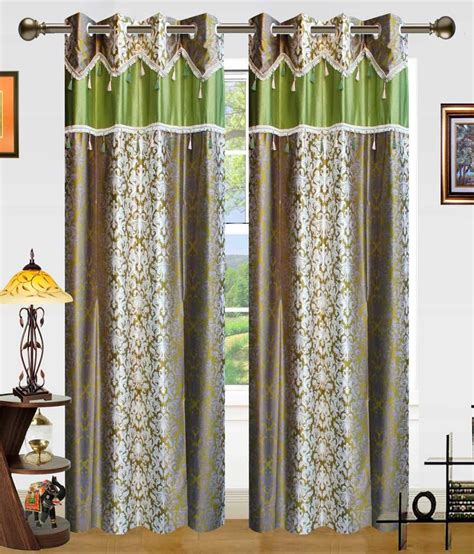 dekor world curtains dekor world set of 2 window eyelet curtains buy dekor