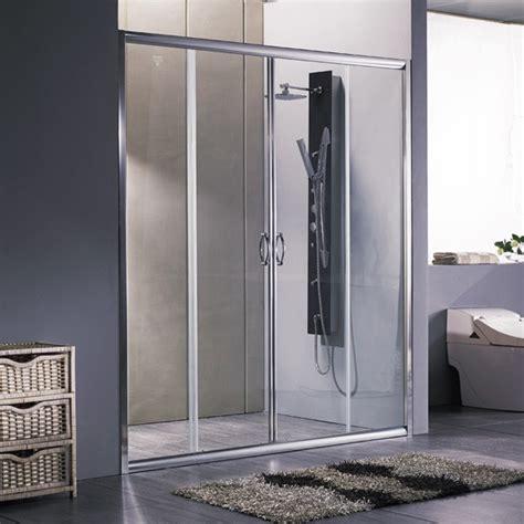 porte doccia nicchia porta per doccia a nicchia apertura centrale doppia anta