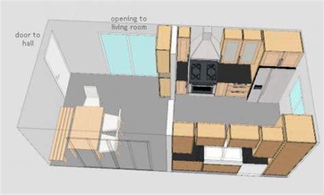 galley kitchen floor plan ideas galley kitchen layout design afreakatheart