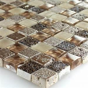 Mosaik Fliesen Außenbereich : muster glas naturstein mosaik fliesen braun beige mix 4250600578843 ebay ~ Yasmunasinghe.com Haus und Dekorationen