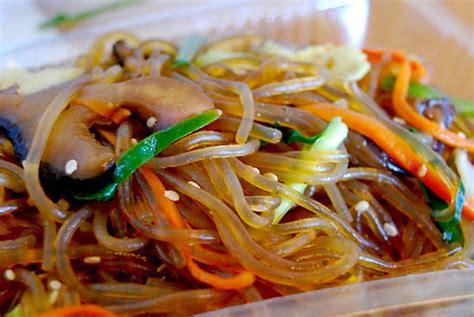 korean japchae  nutrition kitchencom
