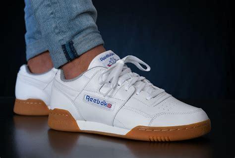 reebok workout plus r12 white gum sneaker bar detroit