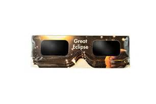 Great Solar Eclipse Glasses