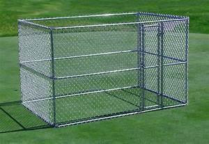 portable chain link fence for dogs fence ideas With portable dog kennels home depot