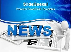 News Global Powerpoint Backgrounds And Templates 1210