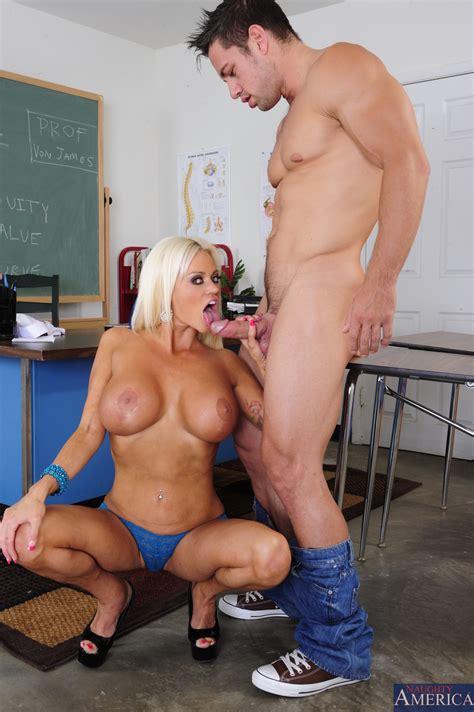 Busty Blonde Teacher Got Fucked From Behind Photos Nikita