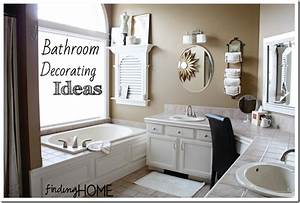 7 Bathroom Decorating Ideas: Master Bath - Finding Home Farms