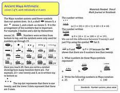 Mayan Math Word Problems Mayan Civilization Gods Beliefs Lesson Mayan Number System On Maya Numbers Worksheet Mayan Math Worksheet 425 X 120 Jpeg 31kb Mayan Math Worksheet 320 X Mayan Math Worksheet