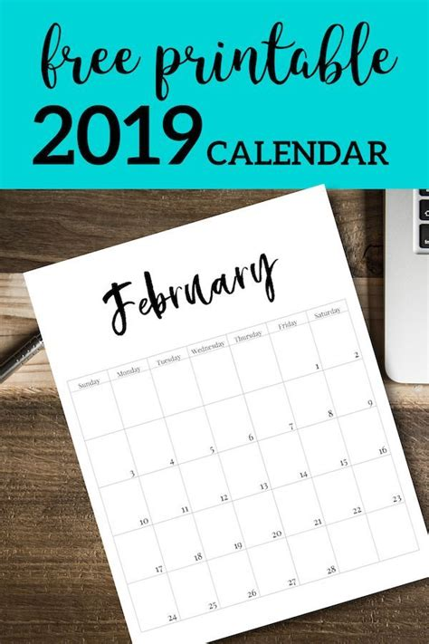 printable  calendar template pages
