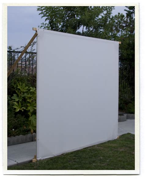 Backyard Theater Screen by Inspirations Outdoor