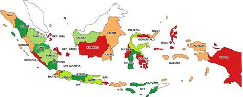 peta propinsi indonesia geograph