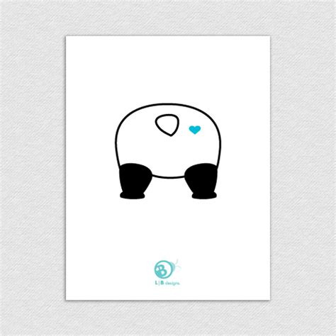 panda love printable valentines day card pandalove