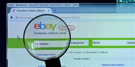 Betrug Auf Ebay Kleinanzeigen Und Co.