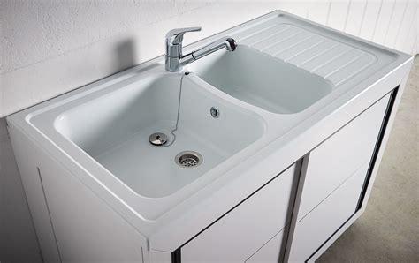 meuble cuisine sous evier carea sanitaire vendée normandie meuble composite pvc