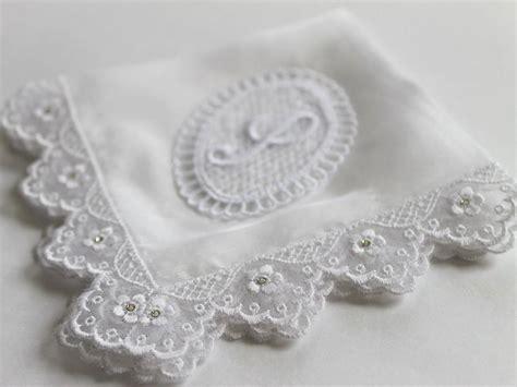 monogrammed hanky monogram handkerchief by greenleafvintage1 swarovski monogram wedding hanky bridal shower gifts