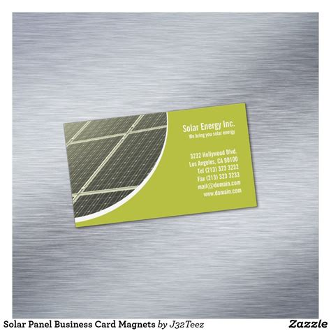 templates buisness card solar solar panel business card magnets zazzle business