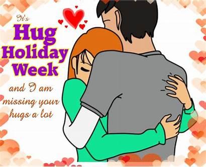 Hugs Missing Hug Holiday Ecard Card Greeting