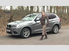 2013 BMW X3 review What Car? YouTube